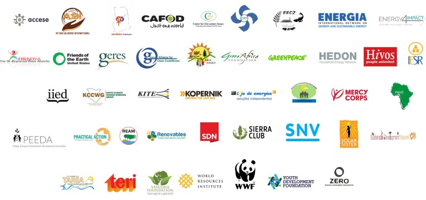 ACCESS Alliance of Civil Society Organisations for Clean Energy Access members
